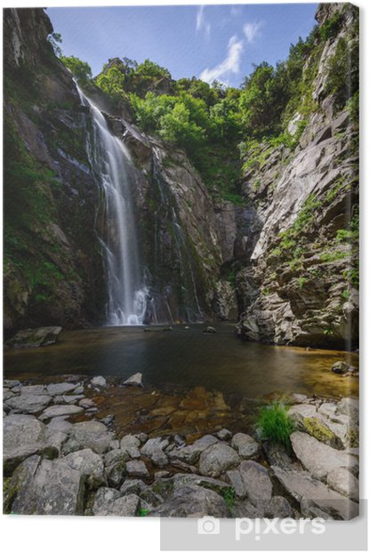 Fervenza do Toxa 3 Canvas Print - Water