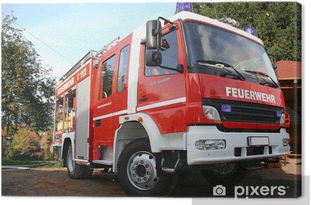 Feuerwehr Canvas Print - Life
