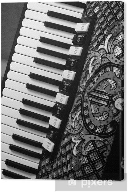 Fisarmonica Canvas Print - Music