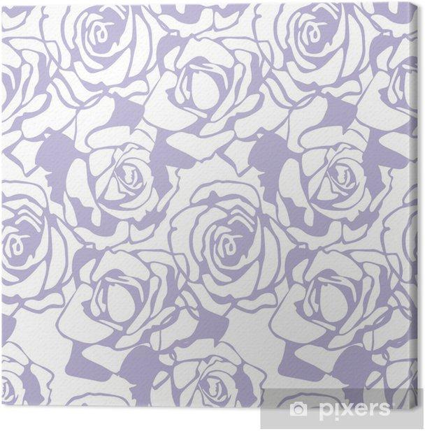 floral vector texture Canvas Print - Celebrations
