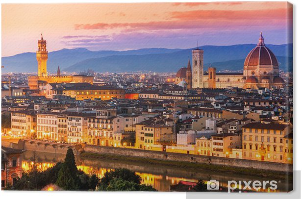 Florence, Canvas Print - Themes