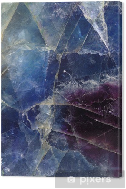 Fluorite pattern Canvas Print - Raw Materials