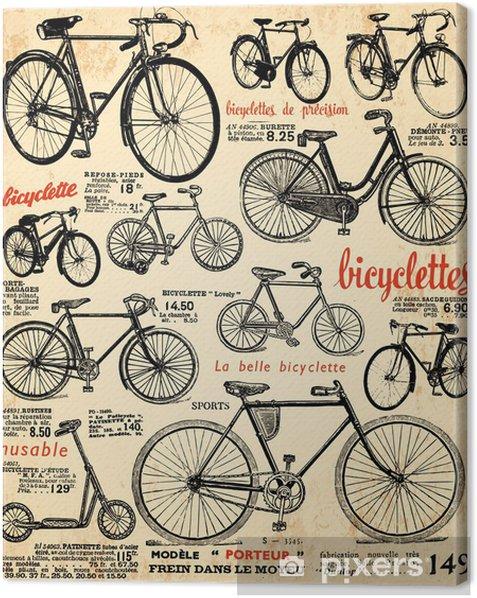fond vélo Canvas Print -