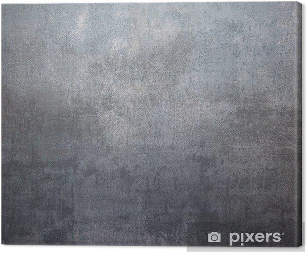 fondo metallo argento Canvas Print - Themes