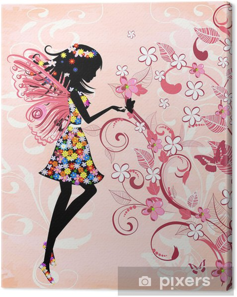 Forest Fairy Canvas Print - Styles