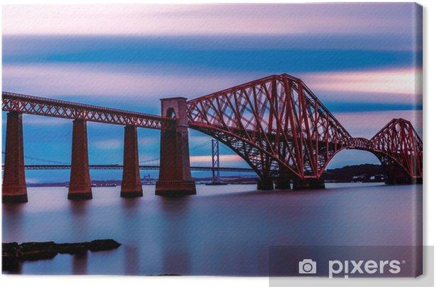 Forth Bridge Edinburgh Canvas Print - Themes