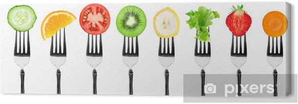 Fruits and vegetables Canvas Print - Wall decals