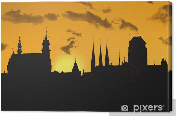 Gdansk Canvas Print - Themes