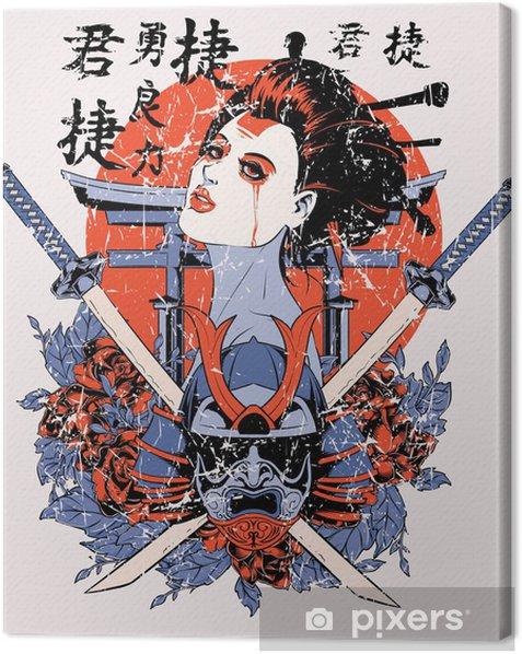 Geisha Canvas Print - Signs and Symbols