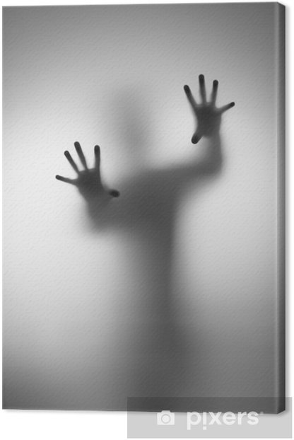Ghosts Hand Canvas Print - Men