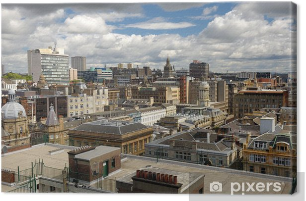 Glasgow city Canvas Print - Urban