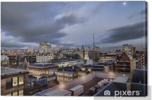 glasgow view Canvas Print - Europe