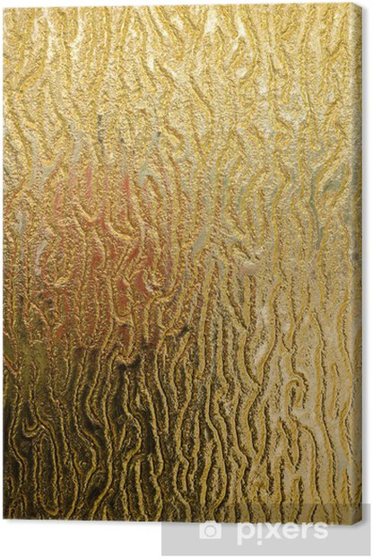glass texture Canvas Print - Raw Materials