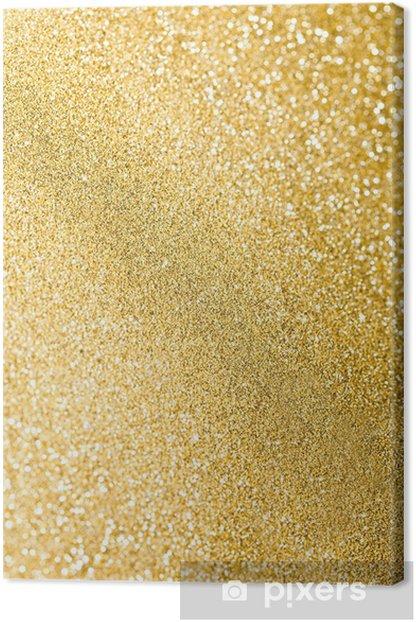 glitter sparkles dust on background, shallow DOF Canvas Print - International Celebrations