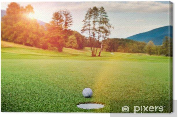 Golf Canvas Print - Golf