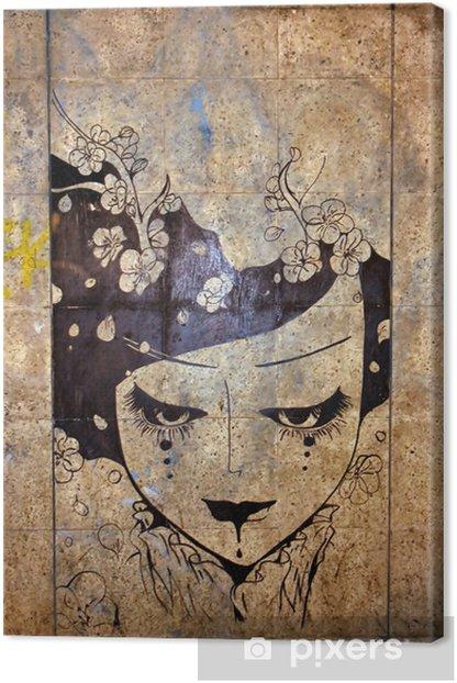 graffiti - street art Canvas Print - iStaging