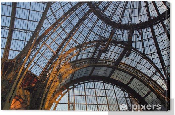 Grand Palais, verrière, Paris Canvas Print - PI-31
