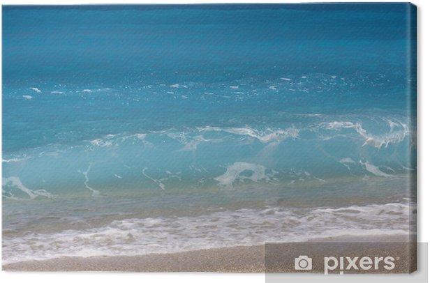 Greek sea Canvas Print - Europe