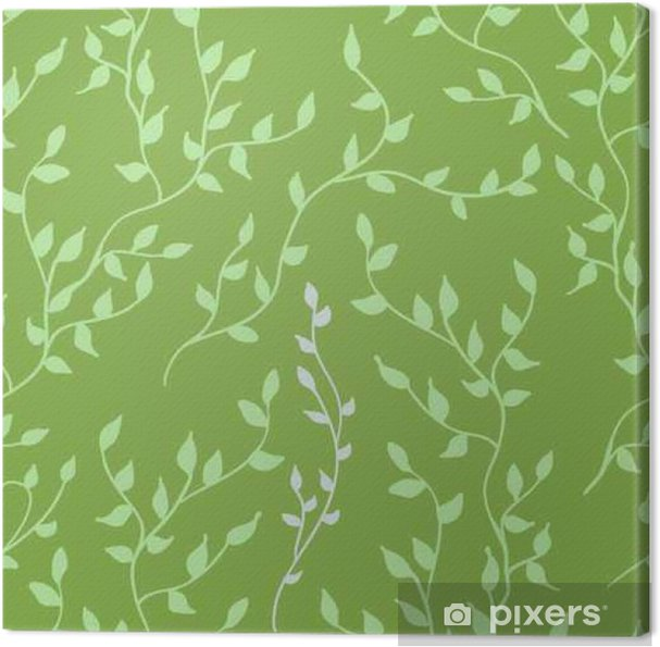 98456d3a7bc Greenery leaves seamless pattern. Color of the year 2017 background.  Greenery trendy background. Canvas Print