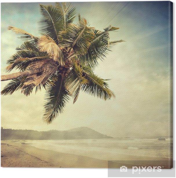 grunge palm-8 Canvas Print - Themes
