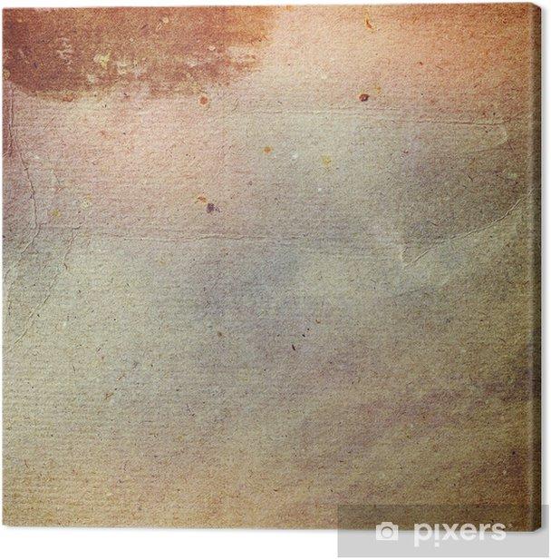 Grunge Paper Texture Vintage Background Canvas Print