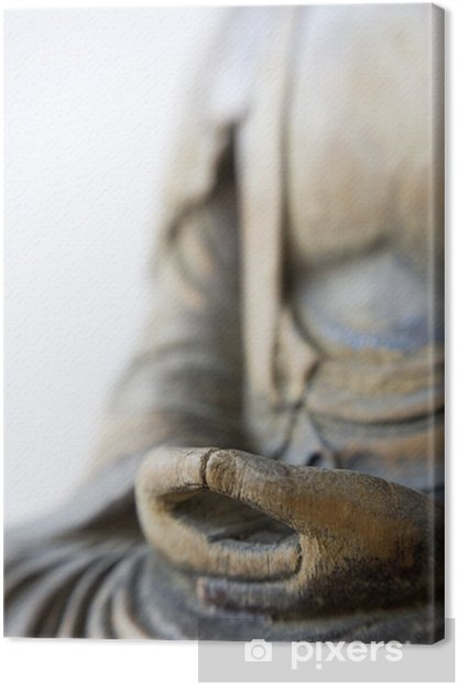 Hands of Buddha Canvas Print - Religion