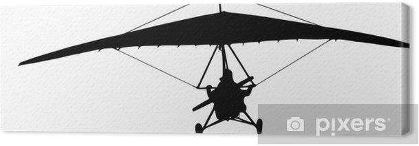 hang-glider Canvas Print - Extreme Sports