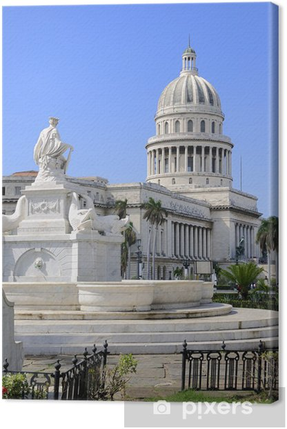 Havana capitoly Canvas Print - Countries