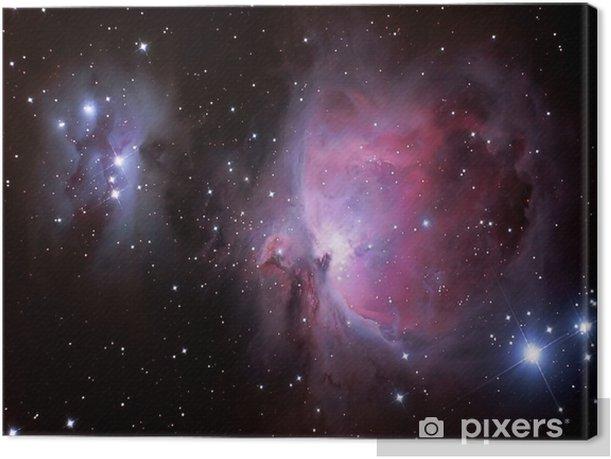 hearts in heaven Canvas Print - Universe