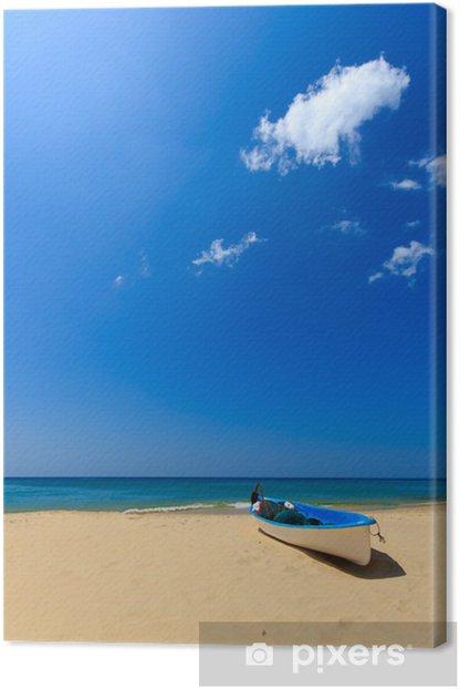 Holidays paradise beach Canvas Print - Asia