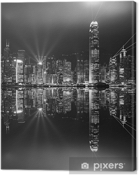 Hong Kong. Canvas Print - Asia