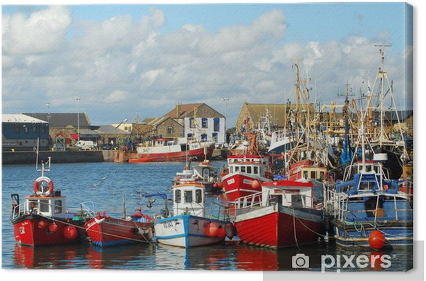 Howht Harbour, Ireland, Dublin Canvas Print - Themes