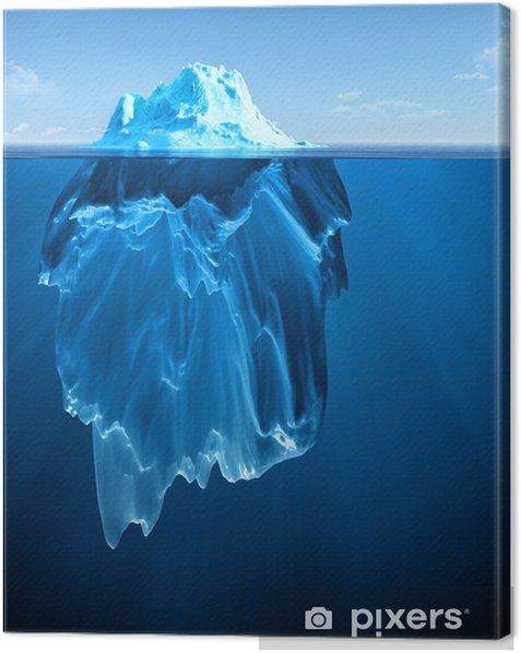 iceberg Canvas Print - Themes