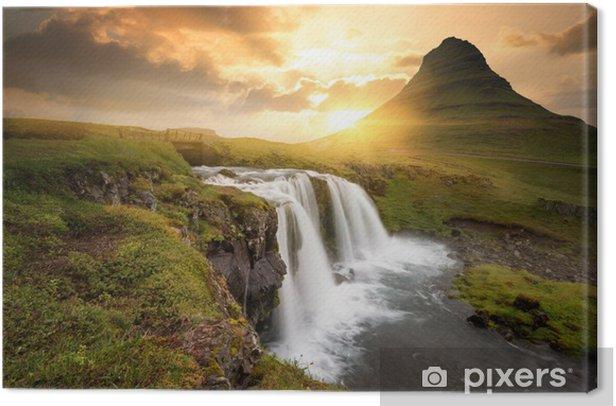 Iceland Canvas Print - Themes