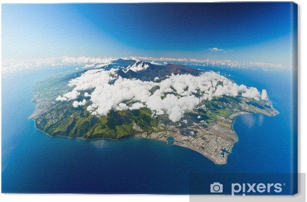 ile de la Réunion Canvas Print - iStaging
