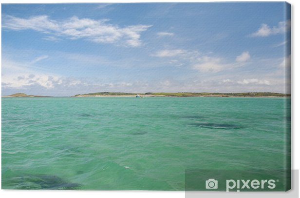 Isles of Scilly, Cornwall Canvas Print - Europe
