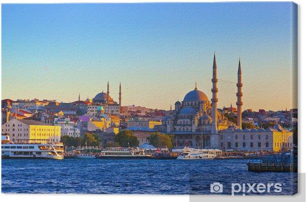 Istanbul sunset Canvas Print - Themes
