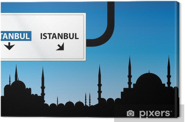 istanbul Canvas Print - The Middle East
