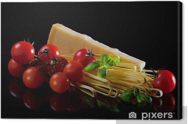 Italian pasta Canvas Print - Cheeses