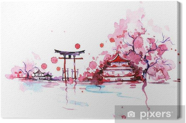 Japan Canvas Print - Travel