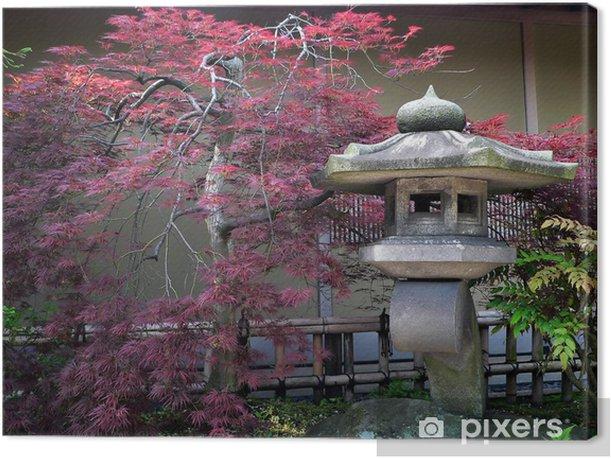 japanese garden Canvas Print - iStaging