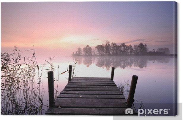 Jetty Canvas Print -