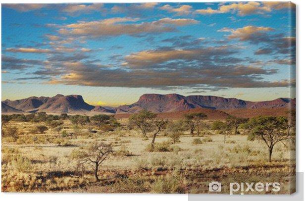 Kalahari Desert, Namibia Canvas Print - Themes
