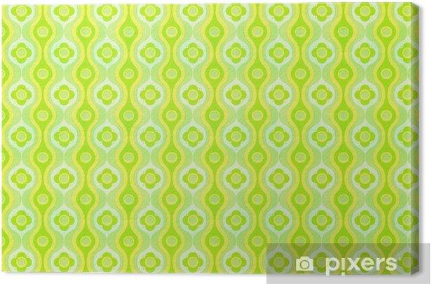 Kitsch wallpaper Canvas Print - Textures