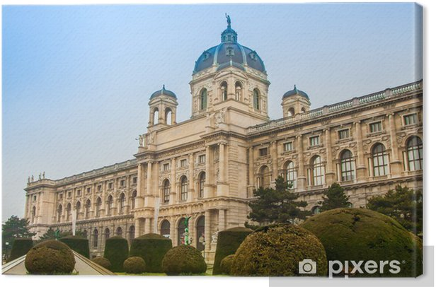 Kunsthistorisches (Fine Art) Museum in Vienna, Austria. Canvas Print - European Cities