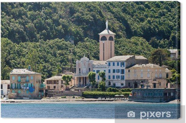 Küste von Korsika Canvas Print - Europe