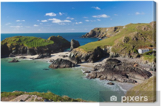 Kynance Cove Cornwall Canvas Print - Other