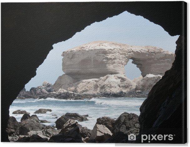 La Portada at Antofagasta Canvas Print - America