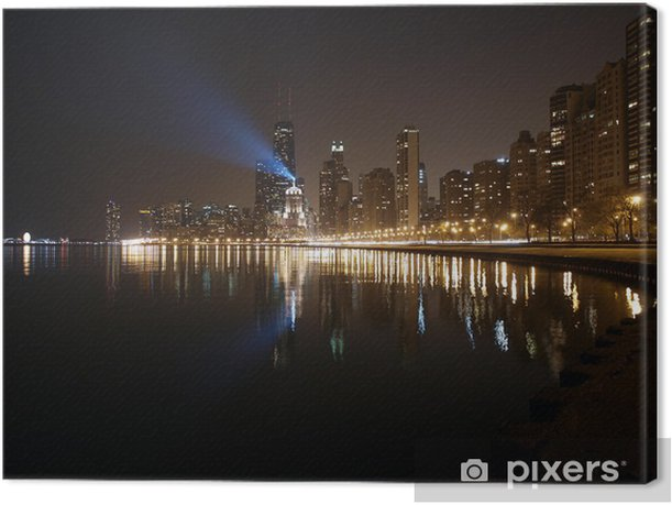 Lake Michigan Shore Canvas Print - America