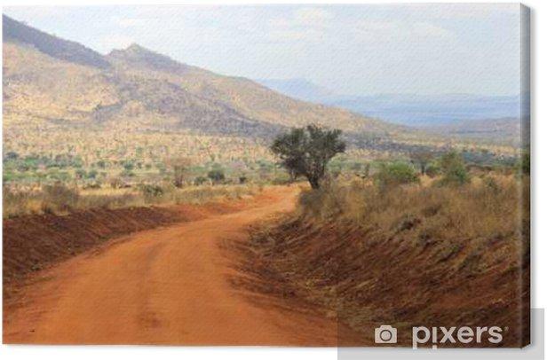 Landschaft in Kenia Canvas Print - Travel